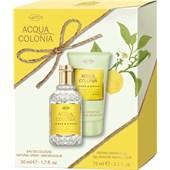 4711 Acqua Colonia - Lemon & Ginger - Presentset