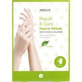 Absolute New York - Kroppsvård - Repair & Care Hand Mask Green Tea