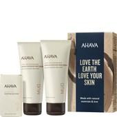 Ahava - Leave-On Deadsea Mud - Naturally Pure Mud Trio Presentset