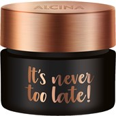 Alcina - Effekt & Vård - It''s Never Too Late! It''s Never Too Late!