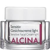 Alcina - Känslig hud - Sensitiv-ansiktskräm light