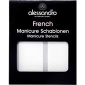 Alessandro - French Style - Mascherine per manicure francese