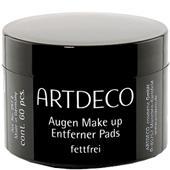 ARTDECO - Rengöringsprodukter - Pads för ögonmakeupborttagning