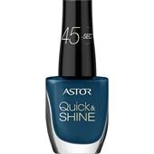 Astor - Naglar - Quick & Shine Nail Polish
