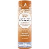 BEN&ANNA - Deodorant PaperStick - Natural Deodorant Stick Vanilla Orchid