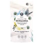 BEN&ANNA - Body and hair - Naturlig dusch - Tabletter Aqua