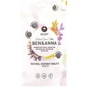 BEN&ANNA - Body and hair - Naturlig dusch - Tabletter Velvet