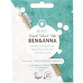 BEN&ANNA - Tooth tablets - Naturlig tandkräm Mint med fluor