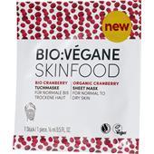 BIO:VÉGANE - Bio Cranberry - Maschera tessuto