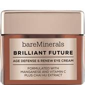 bareMinerals - Ögonvård - Brilliant Future Age Defense & Renew Eye Cream