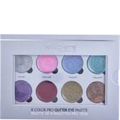 Bellápierre Cosmetics - Ögon - 8 Color Pro Glitter Eye Palette