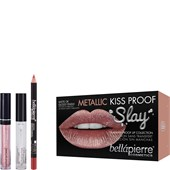 Bellápierre Cosmetics - Sets - Metallic Kiss Proof Slay Kit