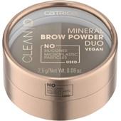 Catrice - Ögonbrynsprodukter - Mineral Brow Powder Duo