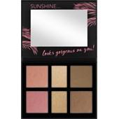 Catrice - Ögonskugga - Aloha Sunsets Everyday Face And Cheek Palette