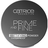 Catrice - Primer - Prime And Fine Mattifying Powder Waterproof