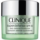 Clinique - Återfuktande hudvård - hudtyp 3/4 - fet till mycket fet hy Superdefense SPF 20 Daily Moisturizer