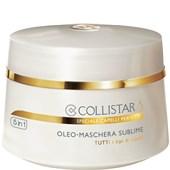 Collistar - Nourishment and Lustre - Sublime Oil Mask