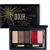 DIOR - Läppstift - Holiday Couture Collection Sparkling Couture Palette Satin Eyes & Lips Essentials