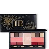 DIOR - Läppstift - Holiday Couture Palette Sparkling Couture Palette Colour & Shine Essentials Face, Eyes & Lips