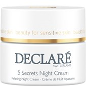 Declaré - Stress Balance - 5 Secrets Night Cream