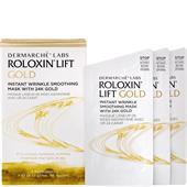 Dermarché Labs - Ansiktsvård - Roloxin Lift Instant Wrinkle Smoothing Mask 24K Gold