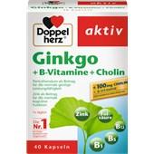 Doppelherz - Energy & Performance - Ginkgo + B-vitamin + Kolinkapslar