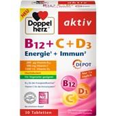 Doppelherz - Minerals & Vitamins - Vitamin B12 + C + D3