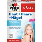 Doppelherz - Skin, Hair, Nails - Hyaluron + Kisellera + Zink Hud + hår + naglar