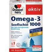 Doppelherz - Cardiovascular - Omega-3 + Fiskleverolja Kapslar