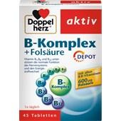 Doppelherz - Minerals & Vitamins - B-komplex + Folsyra tabletter