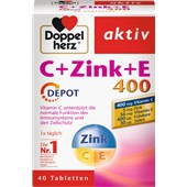 Doppelherz - Immune system & cell protection - C + Zink + E Tablets