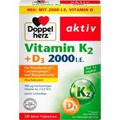 Doppelherz - Immune system & cell protection - Vitamin K2 + D3 Tablets