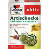 Doppelherz - Stomach & Digestion - Kronärtskocka + Olivolja + Gurkmeja Kapslar