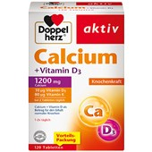 Doppelherz - Minerals & Vitamins - Calcium + Vitamin D3 Tablets