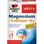 Doppelherz - Minerals & Vitamins - Magnesium + Calcium + D3 Tablets