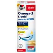 Doppelherz - Cardiovascular - Omega-3 Liquid Fiskleverolja
