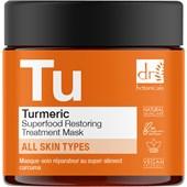 Dr Botanicals - Facial care - Turmeric Superfood Restoring Treatment Mask