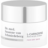 Dr. Susanne von Schmiedeberg - Face creams - L-Carnosine Anti-A.G.E. Cream For Dry Skin