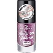 Essence - Nail Polish - Glitter On Glitter Off Peel Off Nail Polish