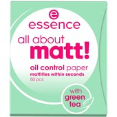 Essence - All About Matt! Puder - Oil Control Paper