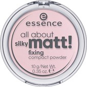 Essence - Puder & rouge - All About Silky Matt! Fixing Compact Powder
