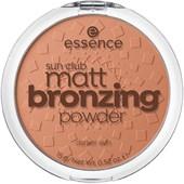 Essence - Puder & rouge - Sun Club Matt Bronzing Powder