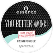 Essence - Puder & rouge - You Better Work! Fixing Powder