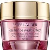 Estée Lauder - Ansiktsvård - Resilience Multi-Effect Tri-Peptide Face and Neck Creme SPF 15
