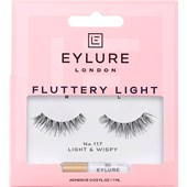 Eylure - Eyelashes - Fluttery Light 117