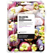Farmskin - Masker - Superfood For Skin Balancing Sheet Mask Mangosteen