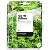 Farmskin - Masker - Superfood For Skin Purifying Sheet Mask Kale
