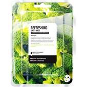 Farmskin - Masker - Superfood For Skin Refreshing Sheet Mask Broccoli