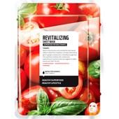 Farmskin - Masker - Superfood For Skin Revitalizing Sheet Mask Tomato