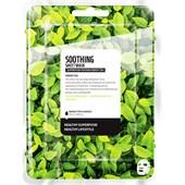 Farmskin - Masker - Superfood For Skin Soothing Sheet Mask Green Tea